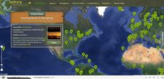 Free Technology for Teachers: Nature Sound Map - Listen to the Sounds of Nature All Over the World