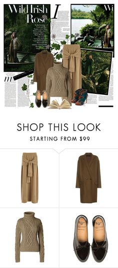 """Wild Irish Rose."" by style-queen-kc-nigz ❤ liked on Polyvore featuring ADAM, Joseph, Isabel Marant, Lands' End and vintage"