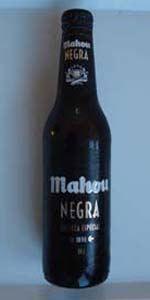 Mahou Negra - Dunkel beer from Spain? You betcha!