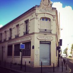 Policestation in Paris