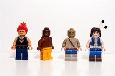 LEGO Street Fighter Mini Figures (3)