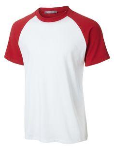 Mens Casual Color Block Short Sleeve Raglan T Shirt Mens Fleece Hoodie, Sweater Hoodie, Pullover, Mens Baseball Tee, Athletic Tank Tops, Men Casual, T Shirt, Shirt Dress, Tees