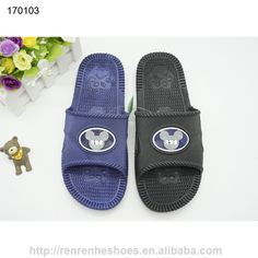 15667341dfc7 cheap pvc air blowing slides slipper sandals men latest design sandal  indoor outdoor