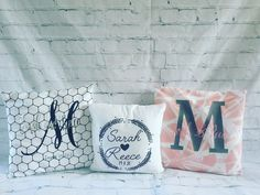 An extra little keepsake personalised cushions! We have 4 styles the font colours will stay the same other than the childrens keepsake pillow you can select! Cushion cover includes the insert Please allow weeks for delivery! Personalised Cushions, Large Letters, My Etsy Shop, Colours, Throw Pillows, Lettering, Cushion Ideas, Handmade Gifts, Check