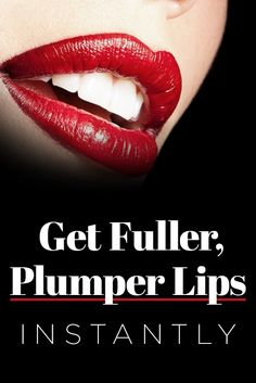 Learn How To Plump Your Lips Without Invasive Procedures.
