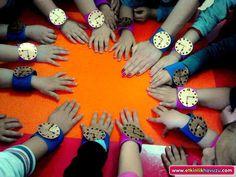 okul öncesi sanat etkinliği saat yapımı - Google'da Ara