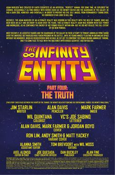 Preview: The Infinity Entity #4, Story: Jim Starlin Art: Alan Davis Covers: Alan Davis & Ron Lim Publisher: Marvel Publication Date: April 6th, 2016 Price: $3.99    ...,  #AlanDavis #All-Comic #All-ComicPreviews #Comics #JimStarlin #Marvel #previews #RonLim #THEINFINITYENTITY