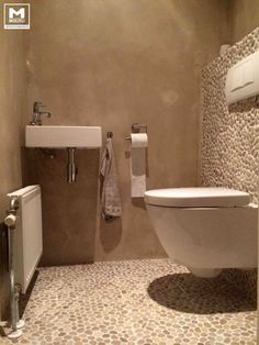 diy bathroom remodel ideas is definitely important for your home. Whether you pick the dyi bathroom remodel or bathroom remodeling, you will create the best bathroom towel ideas for your own life. Toilet Room Decor, Small Toilet Room, Guest Toilet, Downstairs Toilet, Bad Inspiration, Bathroom Inspiration, Dyi Bathroom Remodel, Bathroom Remodeling, Toilette Design