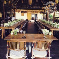 mesa rustic chic estilo boho chic #LoveMemoriesWeddings #Weddings #BeachWeddings #DestiantionWeddings