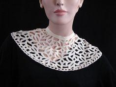 Vintage Antique Tape  Lace Ladies Collar by littlebitvintage2, $6.99