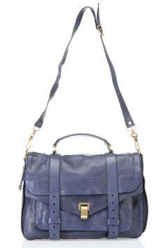 Proenza Schouler PS1 Large Shoulder Bag In Midnight