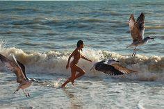 Early morning nudey runs #photography #beach #swimming #ocean
