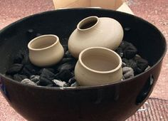 Grilling Season: How to Pit Fire Pottery Using a Good Old-Fashioned Charcoal Grill