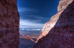 Valle de la Luna («Valley of the Moon») in the Atacama Desert of Chile, the world's driest hot desert[1][2][3][4]