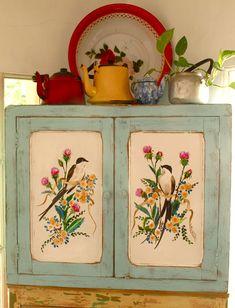 great hand-painted details  Esquinerito de campo: Las Vidalas