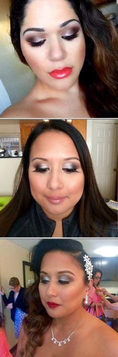 Melissa Oliveira is a professional hair and makeup artist who provides quality wedding makeup and hair styling solutions for her clients. View more photos and reviews for this makeup and hair artist.