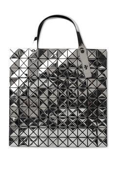 029e768deb2f BAO BAO ISSEY MIYAKE BILBAO PRISM PLATINUM TOTE bag Unique Bags