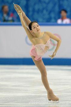 フィギュア女子シングルで14位のリ・ジジュン、ソチ五輪