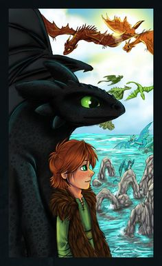 How to Train Your Dragon. I had very high hopes for this movie, and I was anything but disappointed. It takes things we see all the time in movies and books--dragons, nerdy kids that don't go with the crowd, a bad parent-child relationship, hiding the supernatural pet from said parent--and does them all so well I felt as if I'd never seen anything like it. I'm waiting impatiently for the sequel, and analyzing the teaser trailer in the mean time :)