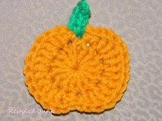 Pumpkin Applique Small crochet projects are a great way to keep your hands busy while watching television or attending your child's sporting events. Crochet pumpkin appliques to embellish a variety...