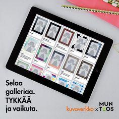 Äänestä MUN TEOS -kilpailun ehdokkaita ja jaa suosikkisi. Valmistamme uudet tuotteemme äänestystulosten perusteella. Osallistu, valitse, vaikuta. www.munteos.fi Kuvaverkko x MUN TEOS #munteos #kuvaverkko #kuvatuote #kilpailu #voita #vaikuta