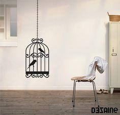Vinil Decorativo : Birdcage 2 Decor, Interior, Home Decor Decals, Mural, Deco, Home Decor, House Interior, Home Interior Design, Interior Design