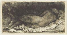 Rembrandt, Negress lying down. Art Gallery of Ontario, Toronto