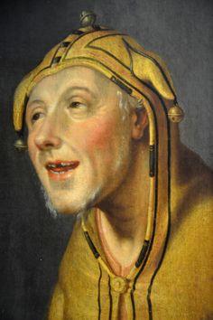 Head of a Fool - Cornelis Cornelisz van Haarlem - Frans Hals Museum, Haarlem