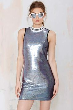 Nasty Gal Slither Sequin Dress - Going Out   Dresses   Clothes   Dresses
