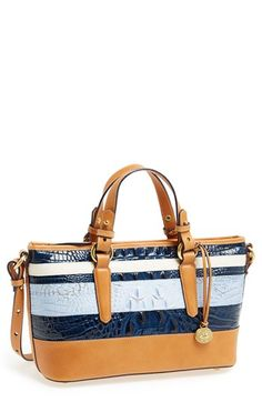 Love the colors!! Me want =D  Brahmin 'Asher - Mini' Tote available at #Nordstrom