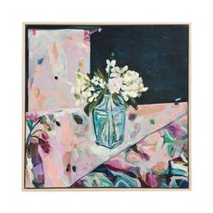JUMBLED is an eclectic mix of all things gorgeous and wonderful for your home. It's all about mixing, not matching! Abstract Flower Art, Abstract Shapes, Art Floral, Floral Style, Flower Artists, Botanical Art, Love Flowers, Mixed Media Art, A Team