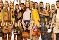 Vogue Italia january 2000 by Steven Meisel Audrey Marnay, Maggie Rizer, Liisa Winkler,Ana Claudia Michels, Caroline Ribeiro & Karen Elson