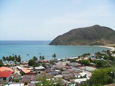 Vista desde el Fortín de La Galera, en la Bahía de Juangriego!