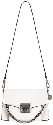 $1,990 Givenchy Small Leather GV3 #style #bags #shoulderbag #bolsa #bolsos #affiliate #shopstyle #womensfashion #mystyle