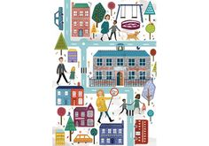 #art by Steph Marshall and is part of our new #exhibition #love the #city buy the #print For more info, have a look at our what's on page http://www.thebrightemporium.com/printsandproducts/print-on-demand/