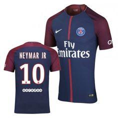 10 Neymar JR Paris Saint-Germain FC Football Jersey - Authentic Mens 17  57b5e622c