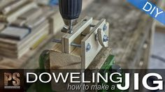 A doweling jig made with remains of hard plywood and a few bolts. It can substantially improve our dowel joints and drill holes. It can be adjusted to differ...