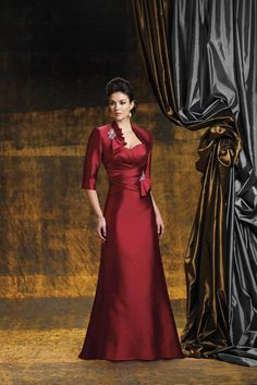 2012 Collection Burgundy A Line Sweetheart Floor Length Taffeta Lace USD 159.99 STPKEZP8BA - StylishPromDress.com