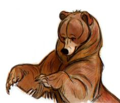 Brother Bear Concept Art.