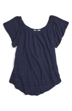Ten Sixty Sherman Knit Stripe Top (Big Girls) | Nordstrom