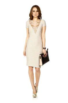 wishwantwear designer hire - badgley mischka dress