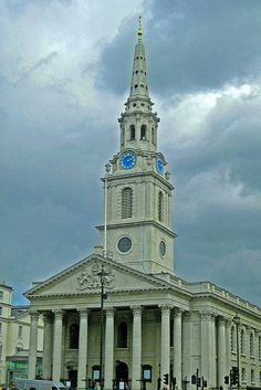 St. Martin in the Fields by m tabb, via Flickr