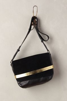 Found on SALE! Clare V Lou Crossbody Bag Black One Size Bags- classic everyday bag with a little gold oomph!