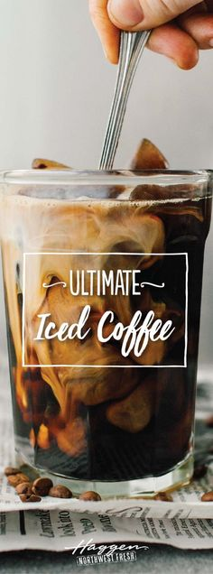Make this ultimate iced coffee right in the comfort of your own home.