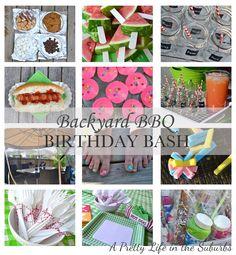 Backyard BBQ Birthday Bash
