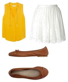 """""""Tiana: Waitress"""" by supergeekgirl591 on Polyvore featuring MICHAEL Michael Kors, IRO and DIENNEG"""