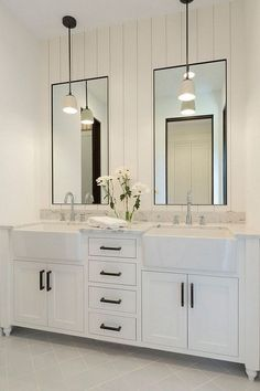32 Best Master Bathroom Designs With Double Vanity To Inspire You
