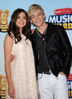 Maia Mitchell and Ross Lynch ~ Radio Disney Music Awards