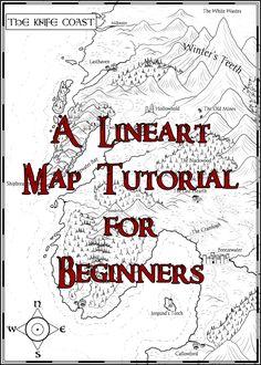 A Lineart Map Tutorial for Beginners by stratomunchkin.deviantart.com on @DeviantArt