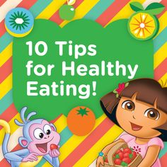 10 easy tips to encourage life-long healthy eating habits for preschoolers! #NickJr #Preschool #Tips  Go now: http://at.nick.com/HealthyEating
